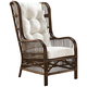 Panama Jack Bora Bora Cushioned Rattan Occasional Chair