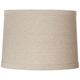 Springcrest™ Natural Linen Drum Shade 13x14x10 (Spider)
