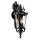 Casa Marseille™ 21 3/4 inch High Black Outdoor Wall Light