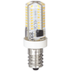40 Watt Equivalent Clear 4 Watt LED E12 Minican Tube Bulb