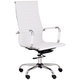 Serge White High Back Swivel Office Chair