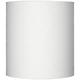 White Tall Linen Drum Shade 14x14x15 (Spider)
