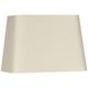 Eggshell Rectangular Linen Shade 16/10x18/12x12 (Spider)