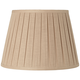 Oat Open Box Pleat Linen Empire Shade 10x16x10 (Spider)