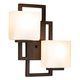 Lighting on the Square 15 1/2 inch High Bronze Wall Sconce