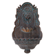 Lion Head Bronze 31 1/2 inch High Indoor Outdoor Fountain
