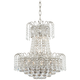 Moira 19 inch Wide Crystal Chandelier