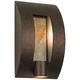 Framed Slate 16 inch High Bronze Outdoor Wall Light