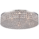 Velie 16 inch Wide Round Crystal Ceiling Light