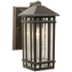 J du J Sierra Craftsman 10 inch High Bronze Outdoor Wall Light