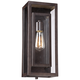 Possini Euro Double Box 15 1/2 inch High Bronze Outdoor Light
