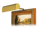 House of Troy 8 inch Wide Polished Brass Plug-in Picture Light