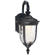 Bellagio™ 16 1/2 inch High Black Down Arm LED Outdoor Light