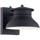 LED Energy Efficient Black 6 inch High Outdoor Wall Light