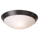 Davis 11 inch Wide Oil-Rubbed Bronze Ceiling Light Fixture