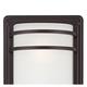 Habitat 16 inch High Bronze and Opal Glass Outdoor Wall Light