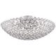 Possini Euro Design Geneva 16 inch Wide Crystal Ceiling Light