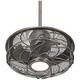 17 inch Casa Vestige™ Antique Bronze Cage LED Ceiling Fan
