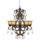 Kathy Ireland Ramas de Luces Bronze 31 inch Wide Chandelier