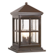 Berkeley Collection 18 3/4 inch High Outdoor Pier Mount Light