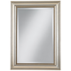 Uttermost Stuart Silver Leaf 36 3/4 inch High Wall Mirror