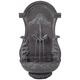 Tivoli Bronze Ornate 33 inch High Wall Fountain
