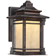 Hickory Point 12 inch High Bronze LED Outdoor Wall Light