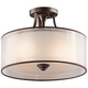Kichler Lacey Collection 15 inch Wide Ceiling Light Fixture