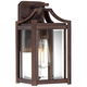 Rockford Collection 12 1/2 inch High Bronze Outdoor Wall Light