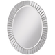Sunspot 24 1/2 inch x 34 inch Oval Wall Mirror