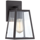 Arrington 10 3/4 inch High Mystic Black Outdoor Wall Light