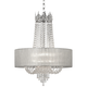 Hallie 21 inch Wide Clear Crystal Chandelier