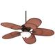 52 inch Casa Vieja® Rattan Outdoor Tropical Ceiling Fan