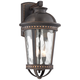 Provence 18 inch High Bronze Downlight Outdoor Wall Light
