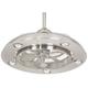 Possini Euro Segue 24 inch-W Brushed Nickel 5-Light Ceiling Fan