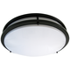 Zaire Bronze 10 inch Wide Flushmount LED Ceiling Light