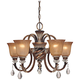 Minka Aston Court 27 inch Wide Chandelier