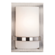 Minka Lavery Contemporary 10 inch High Brushed Nickel Wall Sconce