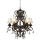 Kathy Ireland Ramas de Luces Bronze 30 inch Wide Chandelier