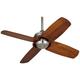 32 inch Casa Vieja Pronto Brushed Nickel Ceiling Fan