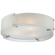 Lite Source Kaelin Flushmount 21 inch Chrome Ceiling Light