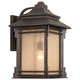 Hickory Point 19 inch High Bronze Outdoor Wall Light