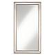 Roseau Palais Bronze 32 1/2 inch x 59 1/2 inch Beaded Mirror