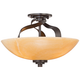 Quoizel Kyle Collection 16 inch Wide Ceiling Light Fixture