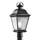Kichler Mt. Vernon 20 3/4 inch High Black Outdoor Post Light
