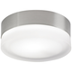 Tech Lighting TL 360 Satin Nickel 6 inch Wide Ceiling Light