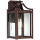 Rockford Collection 16 1/4 inch High Bronze Outdoor Wall Light