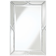 Tryon Silver 25 inch x 38 inch Beveled Wall Mirror
