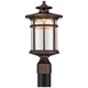 Callaway Rustic Bronze 16 inch High LED Post Light