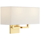 George Kovacs Rectangle 11 inch High Gold Wall Sconce